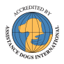Accredited by Assistance Dogs International